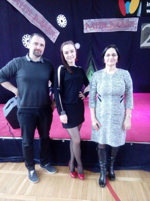 I miejsce w Rejonowym Konkursie MISH MASH dla Simony Sędery