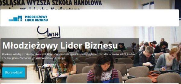 Uczniowie zakwalifikowali się do II etapu Młodzieżowego Lidera Biznesu
